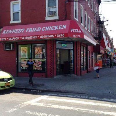 Kennedy Fried Chicken Corner Location